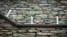 Sklenené zábradlia - Samonosné zábradlia na podlahových bodových kotvách