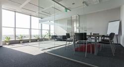 Sklenené steny - Bezrámové sklenené steny