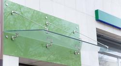 Sklenené prístrešky - Zavesené sklenené prístrešky
