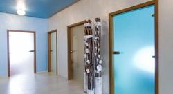 Sklenené dvere na mieru - Jednokrídlové bezrámové sklenené dvere